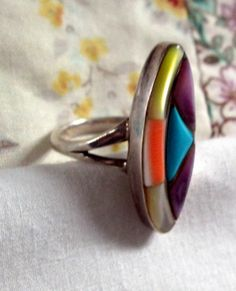 RING TURQUOISE  CORAL  Mother of Pearl  Amethyst   by MOONCHILD111, $22.95 https://www.etsy.com/shop/MOONCHILD111