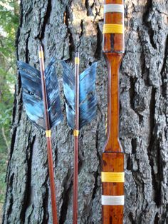 Katniss style archery set 35lb at 28 Hunger by WarpathArchery. , via Etsy.