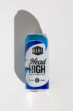 High Head India Pale Ale — The Dieline - Branding & Packaging Design