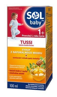 SOLBABY Tussi Respiratory syrup 100ml 1  home remedy for cough, cough medicine
