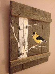 Pallet Painting Distressed Wood Art Pallet Art Customizable