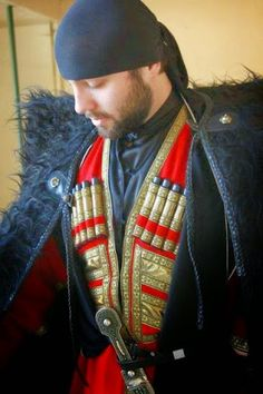 Klim Red – Google+Georgian Traditional Clothing