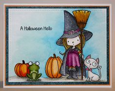 Halloween Card. MFT Witch Way Is the Candy?