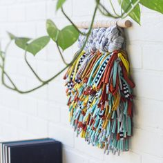 Your place to buy and sell all things handmade Weaving Textiles, Weaving Art, Loom Weaving, Hand Weaving, Wall Hanging Designs, Woven Wall Hanging, Hanging Art, Rope Art, Textile Fiber Art