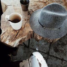 Morning café.
