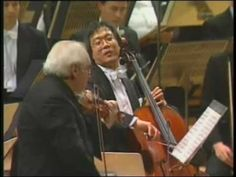 Isaac Stern - Beethoven, Thriple Concerto For Piano, Violin, Cello & Orchestra Op.56 - YouTube