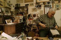 "A tailor in Ferrara - ""The Medieval Town of Ferrara"" by @Cristina"