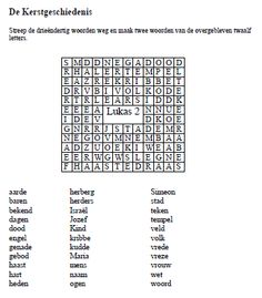 1000 Images About Bijbel Puzzels On Pinterest Kerst