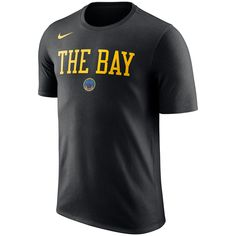 new style c25e6 d84ad Golden State Warriors Nike Dri-FIT Men s Chinese Heritage City Edition  The  Bay  Team Tee - Black. Nba T ShirtsBrooklyn NetsLarge ...