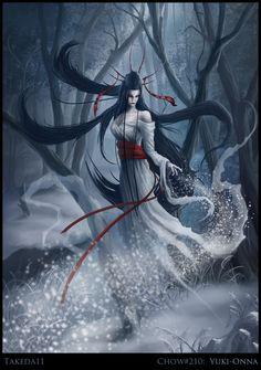 Yuki-Onna, The Snow Spirit