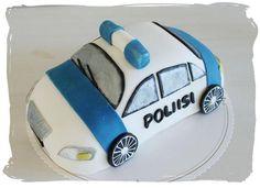 Poliisiauto-kakku - Elämä makeaksi - MTV3.fi - Makuja - Blogit - Elämä makeaksi