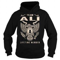 Team ALI Lifetime Member - Last Name, Surname T-Shirt #sunfrogshirt