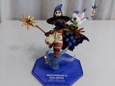 Wizardmon y Gatomon G.E.M Original
