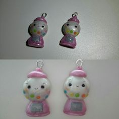 Gumball machine of polymer clay #handmade