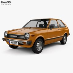 Buy Toyota Starlet 1978 by on The model was created on real car base. Toyota Starlet, Car 3d Model, Toyota Cars, Car Engine, Old Photos, Vintage Cars, Automobile, Models, Compact