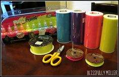 Glow in the Dark Tutu | Step 1: Get material from your local craft store (I went to Hobby ...
