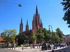 Wiesbaden: A legzöldebb német nagyváros, ahol egzotikus zöld papagájok repkednek az utcán Nassau, Maine, Cathedral, Building, Travel, Wiesbaden, Viajes, Buildings, Cathedrals