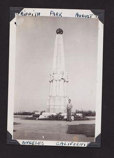 Larry, Griffith Park, 1940