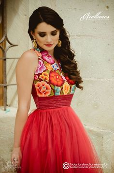 Sweet red party! mexican dress quinceanera dresses