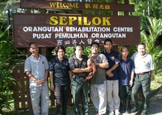 123Travel supports Borneo Orang Utan Sepilok Rehab Centre
