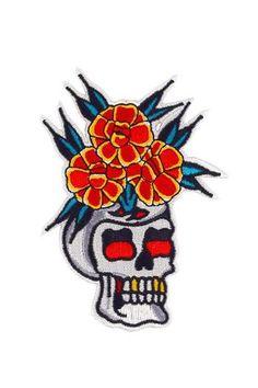 8$  Watch now - http://vifma.justgood.pw/vig/item.php?t=ok6y6w31660 - Skull Vase Patch 8$