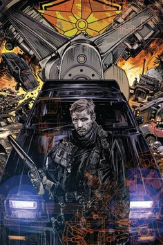 Mad Max: Fury Road by Tommy Lee Edwards *