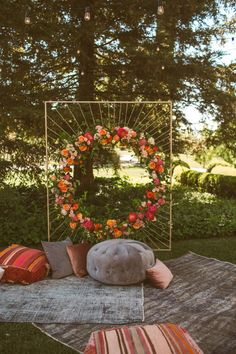 A Whimsical Wedding in the Woods (Real Wedding Inspiration!) - Best elegant wedding decor you can find. Decor ideas for DIYers and those who have others do the de - Magical Wedding, Elegant Wedding, Perfect Wedding, Dream Wedding, Fall Wedding, Elegant Backyard Wedding, Forest Wedding, Rustic Wedding, Wedding Ceremony