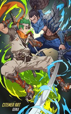 Genji -Overwatch- Yasuo -League of Legends-