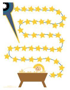 Many Mercies: New 40 Day Nativity Fast Printable (Orthodox advent calendar) Countdown For Kids, Advent For Kids, Advent Calendars For Kids, Kids Calendar, School Calendar, Days To Christmas, Christmas Program, Preschool Christmas, Christmas Countdown