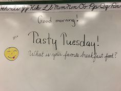 Tasty Tuesday... What is your favorite breakfast food?