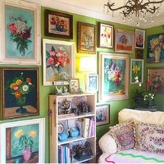 Eclectic Home Decor Interior Design - Top Beautiful Granny Chic Home Decor Ideas – Home and Apartment Ideas You are in the right pla - Funky Home Decor, Home Decor Styles, Diy Home Decor, Room Decor, Eclectic Design, Eclectic Decor, Decor Interior Design, Eclectic Gallery Wall, Granny Chic Decor
