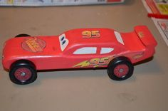 pinwoos derby lighting mcqueen pinewood derby car ahg pinewood