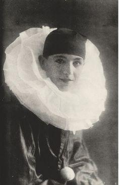 Cecil Beaton      Self-portrait as Pierrot       c.1920.