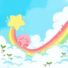 Kirby. How cute!