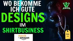 Wo bekomme ich gute DESIGNS im Shirtbusiness 1 - Amazon Merch Deutschlan... T Shirt Designs, Print On Demand, Amazon Merch, Ecards, Memes, Earning Money, Tips And Tricks, Electronic Cards, Jokes
