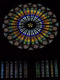 Strasbourg Cathedral Rosette by Nicolas H