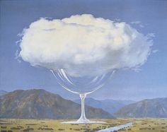 Respectivement : Le beau monde, La corde sensible (1960), L'appel des cimes (1942), René Magritte.
