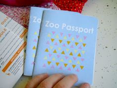 Zoo Passport to check off animals you see at the zoo