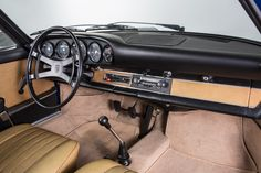 Tableau de bord Porsche vintage