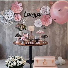 É fofura que fala? 15th Birthday, Birthday Celebration, Girl Birthday, Happy Birthday, Birthday Parties, Bridal Shower Decorations, Birthday Party Decorations, Butterfly Party, Its My Bday
