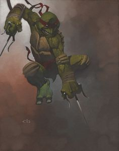 Teenage Mutant Ninja Turtle - Raphael by Chris Stevens