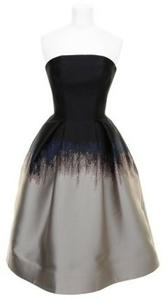 Mary Katratzou Dress - Lyst I think this could make a sweet bridesmaids dress!