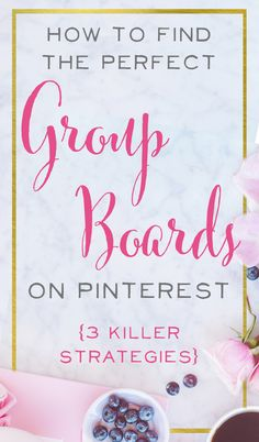 Pinterest group boar