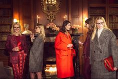 "vogue called it ""up town girls"" i call it chic nerdista 8)    stella pre fall ´13"