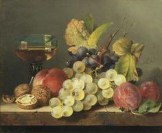 Edward Ladell (British, 1821-1886) Fruit & Still Life