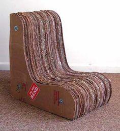 Awesome GOMI Style us Cardboard Furniture