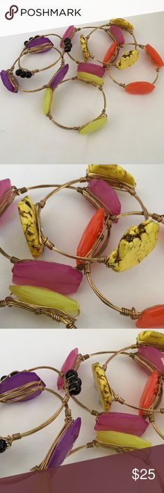 Group of 6 Bourbon and Boweties Lookalikes Group of six bracelets that look like Bourbon and Boweties! Very similar in look! Get the six great bracelet a great price. No Brand Accessories