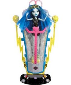 Monster High Freaky Fusion Recharge Station with Doll.