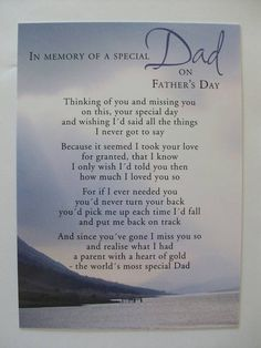 Father's Day Message In Heaven   The Croley Gang: Happy Father's Day