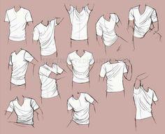 Vẽ quần áo, nếp gấp quần áo cho nam - How to draw clothes's fold for male *Source: Spectrum-VII.deviantart.com -ĐP-